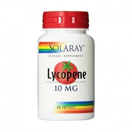 Lycopene 10 mg - Solaray - 60 perlas