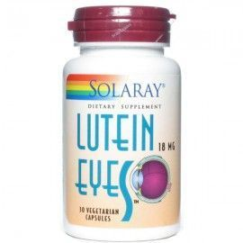 Lutein Eyes 18 mg - Solaray - 30 cápsulas