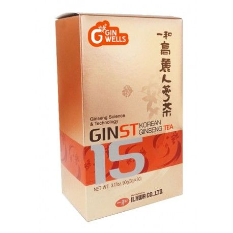 Ginst15 Té Ginseng Coreano- Tongil - 30 sobres solubles