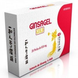 Ginsagel Gold (Extracto de Ginseng IL HWA) - Tongil - 20 perlas