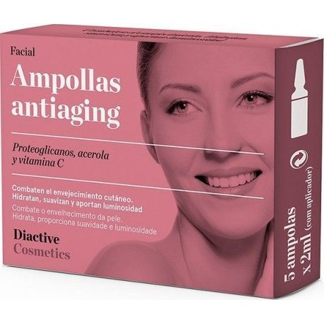 Ampollas Antiaging - Diactive - 5x10 ml.