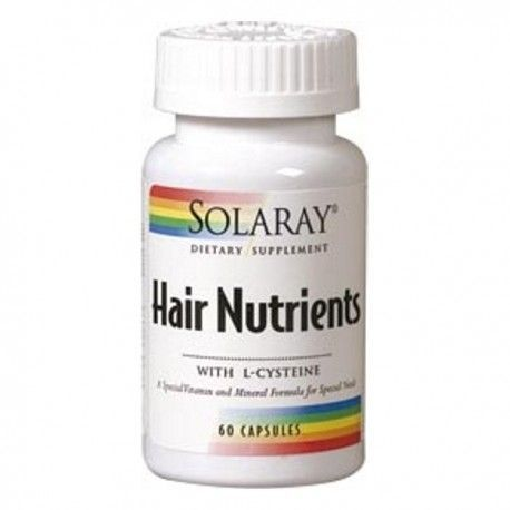 Hair Nutrients - Solaray - 60 cápsulas
