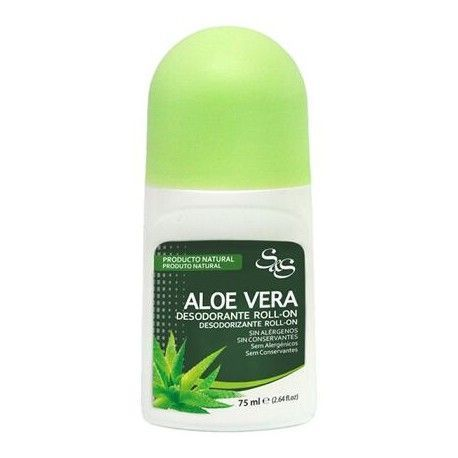 Desodorante Aloe Vera roll-on - SYS - 75 ml