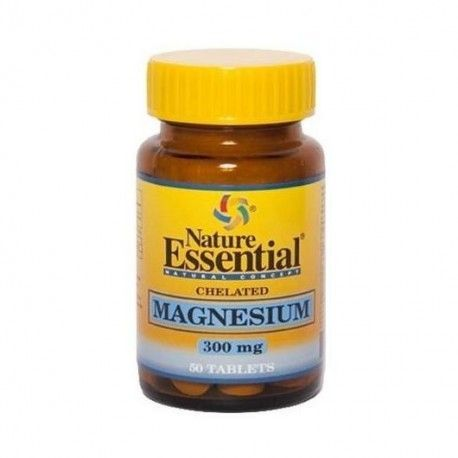 Magnesio (Quelado) 300 mg - Nature Essential - 250 comprimidos