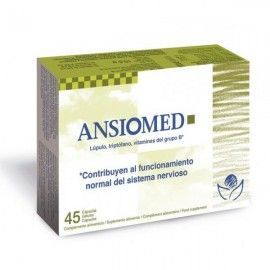 Ansiomed - Bioserum- 45 cápsulas