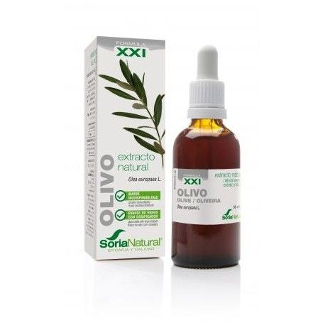 Olivo extracto XXI - Soria Natural - 50 ml