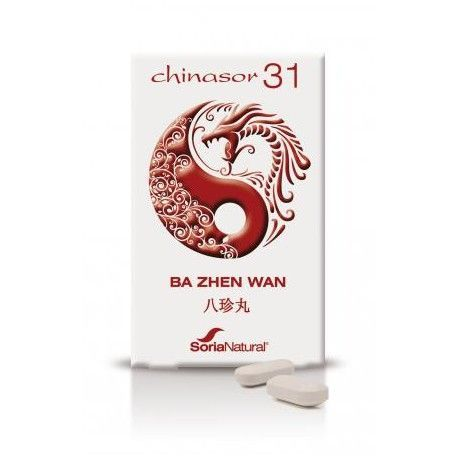 Chinasor 31 Ba Zhen Wan - Soria Natural - 30Comp