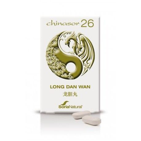 Chinasor 26 Long Dan Wan - Soria Natural - 30Comp