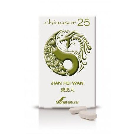 Chinasor 25 Jian Fei Wan - Soria Natural - 30Comp