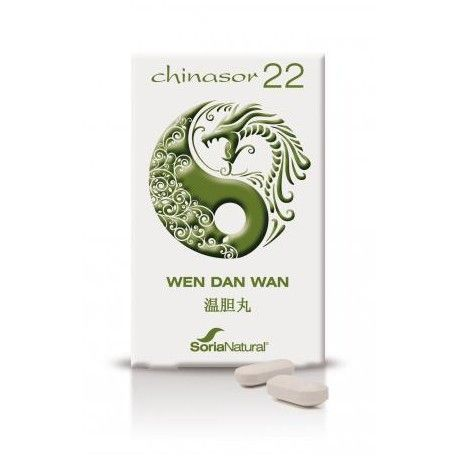 Chinasor 22 Wen Dan Wan - Soria Natural - 30Comp