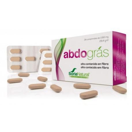 Abdogras - Soria Natural - 28Comp 1050mg