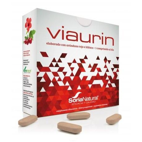 Viaurin - Soria Natural - 28Comp 750mg