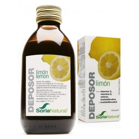 Deposor Lemon - Soria Natural - 240cc