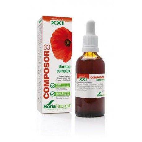 Composor 33 Doxitos Complex 45 Ml - Soria Natural - XXI