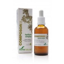 Composor 25 Lepidium Complex - Soria Natural - 50ml