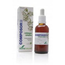 Composor 9 - Crataegus Complex - Soria Natural - 50ml