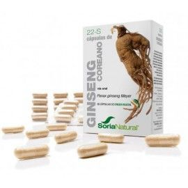 Ginseng - Soria Natural - 24Cáps 400mg