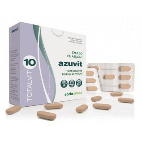 Totalvit 10 Azuvit - Soria Natural - 28Cáps 1405mg