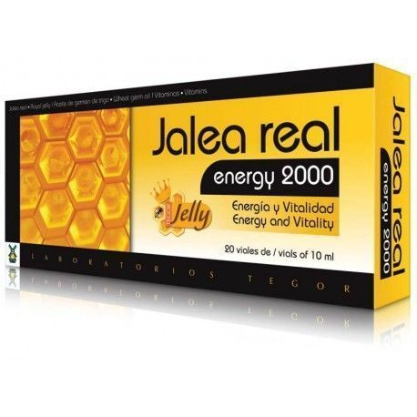 Jalea Real Energy 2000 - Tegor - 20X10Ml