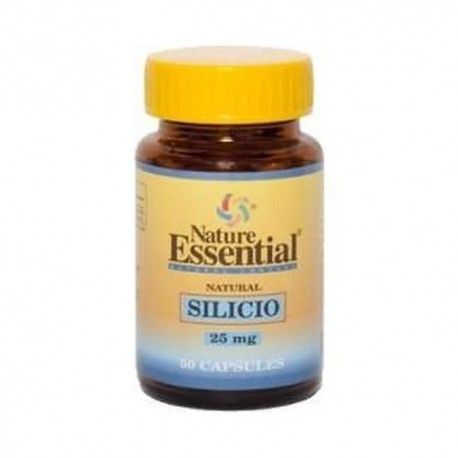 Silicio 25 mg - Nature Essential - 50 cápsulas