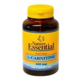 L- Carnitina 450 mg - Nature Essential - 100 cápsulas