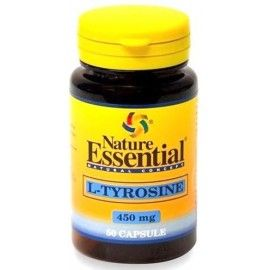 L-Tirosina 450 mg - Nature Essential - 50 cápsulas