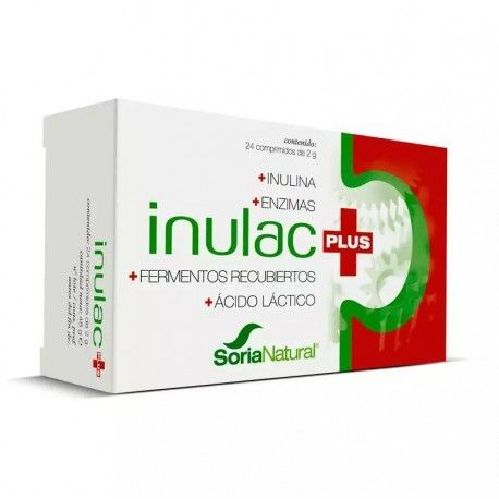 Inulac Plus - Soria Natural - 24 comprimidos