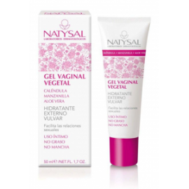 Gel Vaginal Vegetal - Natysal - 50 ml
