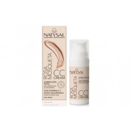 CC Cream FPS Alto - Natysal - 50 ml