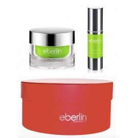 "Kit ""Enamorados"" Sérum Total Defense Pollution + Crema- Eberlin Biocosmetics - 30 gr + 50 gr"