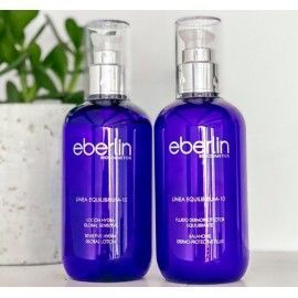 Kit Dúo Sensitive Equilibrium 10 (Fluido+Loción) - Eberlin Biocosmetics - 250ml + 250 ml