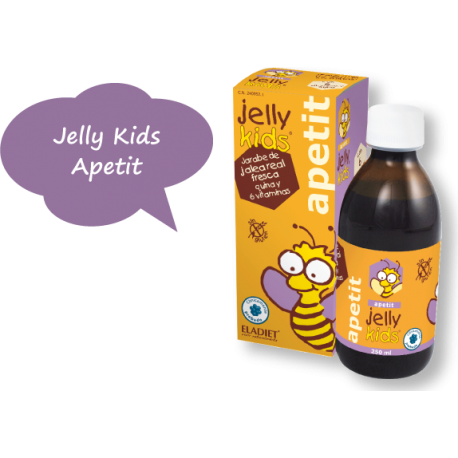 Jelly Kids Apetit Jarabe - Eladiet - 250 ml.