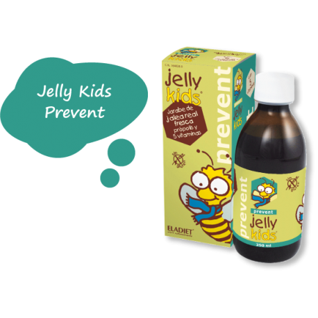 Jelly Kids Prevent Jarabe- Eladiet - 250 ml.